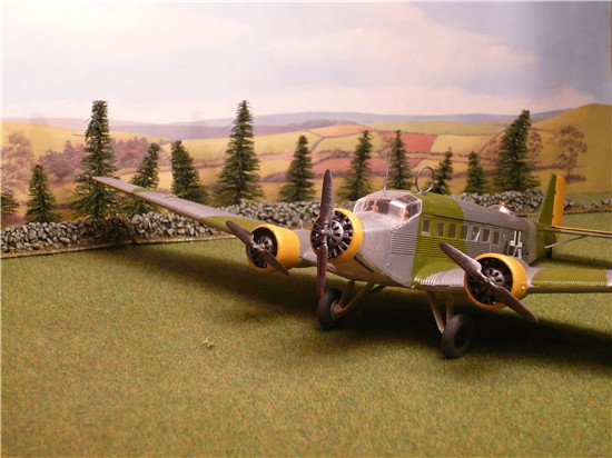 Italeri Ju52 from kit